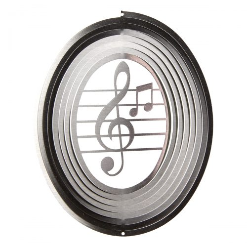 Music Note Wind Spinner