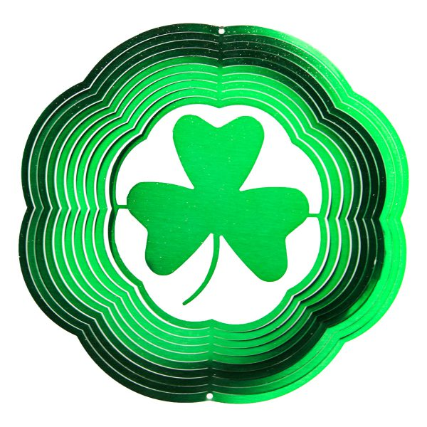 Classic-Shamrock-Wind-Spinner-in-Green