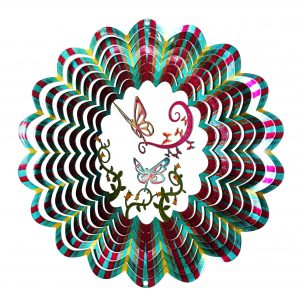 Multi-Color Moving ButterFly Wind Spinner