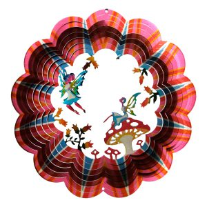 Multicolor Fairies Wind Spinner