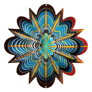 Multicolor Star Wind Spinner