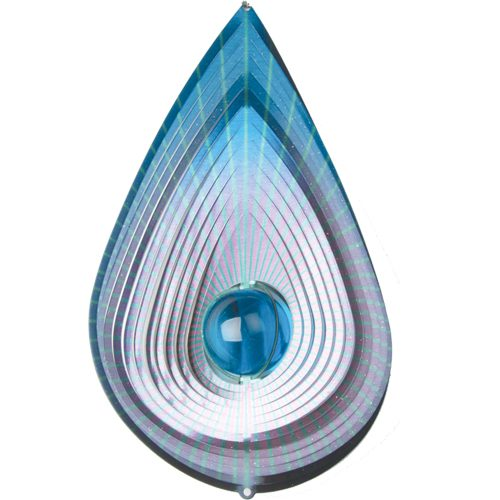 tear drop 3d wind spinner
